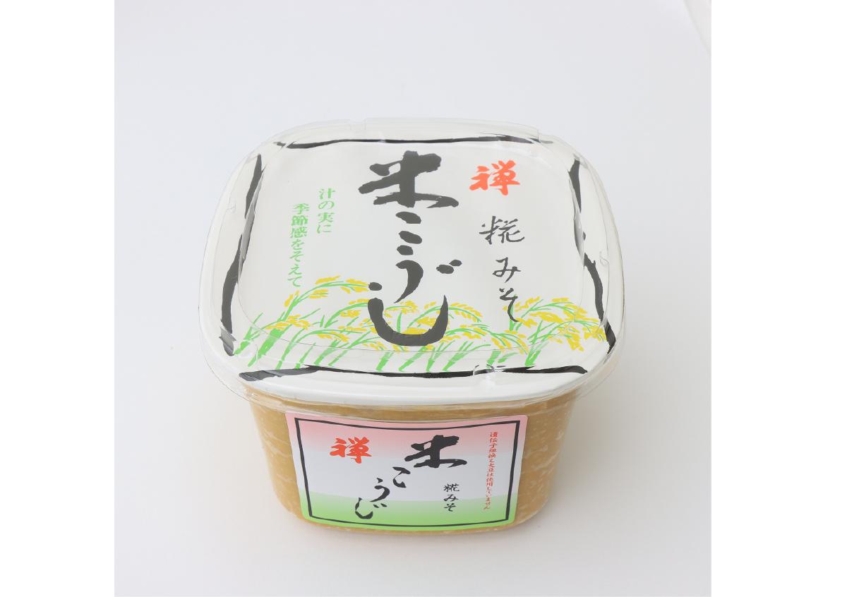 禅 米こうじみそ1kgカップ